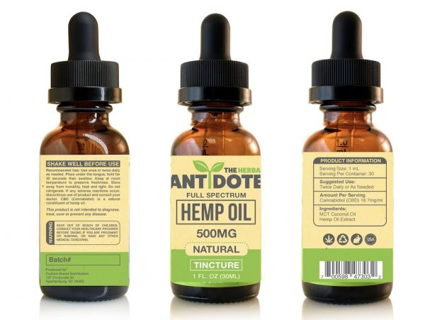 The Herbal Antidote Tinctures