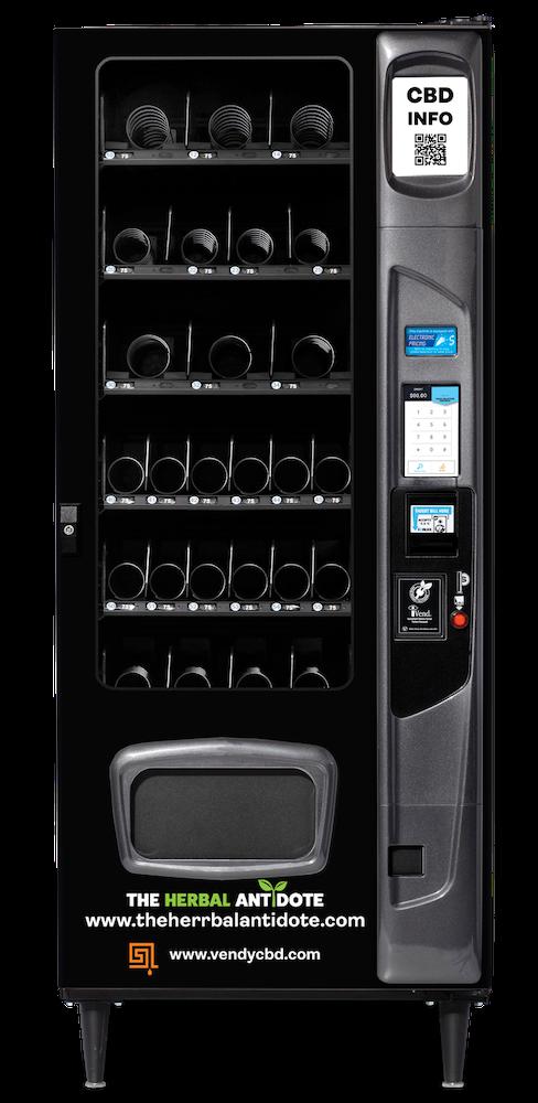 Vending machine for CBD