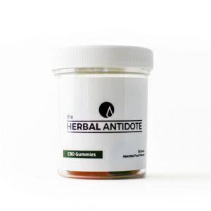 The Herbal Antidote CBD Gummies 12 ct