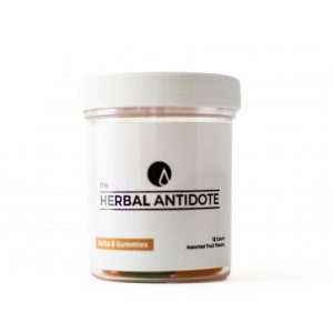 The Herbal Antidote Delta-8 Gummies 12 ct
